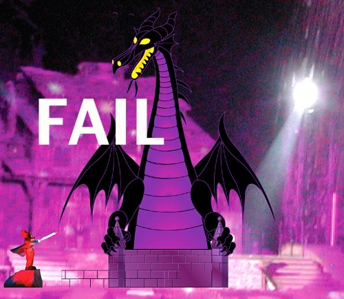dragon fail